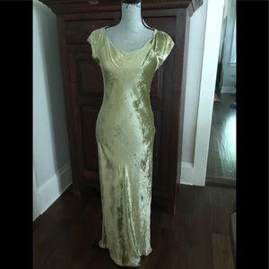 Vintage Marni Milano panne velvet dress Italy